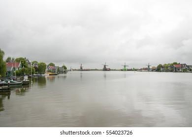 Zaanse Schans, Netherlands.