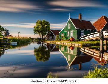 Zaanse Schans Village in Holland