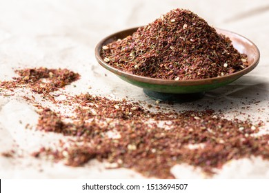 zaatar spice blend in a bowl