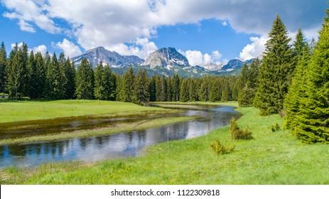 Zabljak in Montenegro