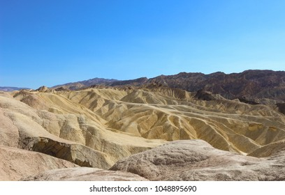 Zabriskie Point at Death Valley National Park