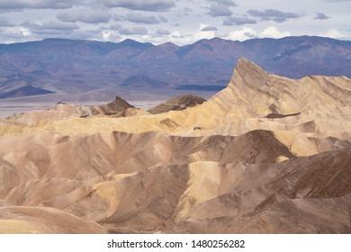 Zabriskie point view - Death Valley, California