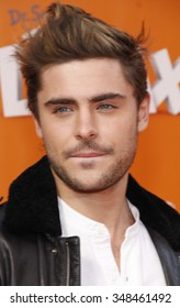 "Zac Efron at the Los Angeles Premiere of ""Dr. Suess' The Lorax"" held at the Universal Studios Hollywood, California, United States on February 19, 2012."