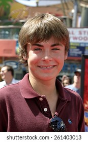 """Zac Efron at the """"Thunderbirds"""" Premiere held at the Universal Studios Cinemas in Universal City, California United States on July 24, 2004."""