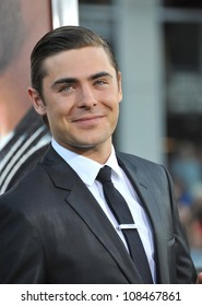 """Zac Efron at the world premiere of his new movie """"The Lucky One"""" at Grauman's Chinese Theatre, Hollywood. April 16, 2012  Los Angeles, CA Picture: Paul Smith / Featureflash"""