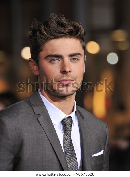 """Zac Efron at the world premiere of his new movie """"New Year's Eve"""" at Grauman's Chinese Theatre, Hollywood. December 5, 2011  Los Angeles, CA Picture: Paul Smith / Featureflash"""