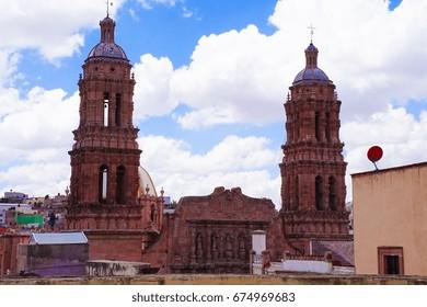 Zacatecas UNESCO Site Mexico
