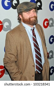 Zach Galifianakis at the GQ Men of the Year Party, Chateau Marmont, Los Angeles, CA. 11-18-09