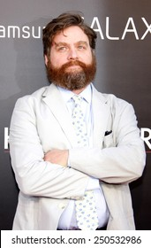 """Zach Galifianakis at the Los Angeles Premiere of """"The Hangover Part 3"""" held at the Mann Village Theater in Hollywood, California, United States on May 20, 2013."""