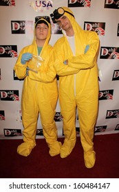 Zach Lewis and Drew Leon at the Monster Man Costume Ball, Cabo Wabo, Hollywood, CA 10-16-13