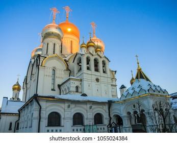 Zachatevsky monastery in Moscow.