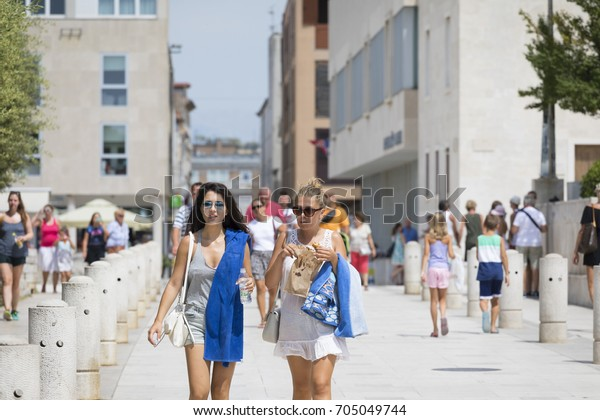Teen girls in Zadar