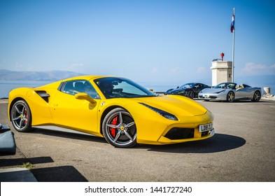 Ferrari Yellow High Res Stock Images Shutterstock