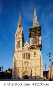 Zagreb Cathedral, Zagreb is capital city of Croatia