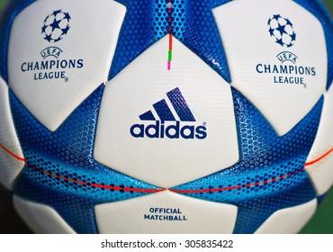 adidas UCL European Football Champions League Milan 2016 Final Gym Bag Blue