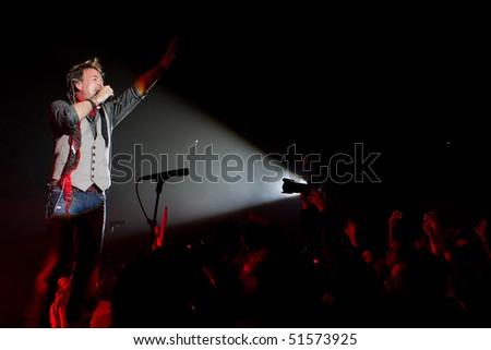 ZAGREB CROATIA APRIL 22 Concert Famous Stock Photo (Edit Now