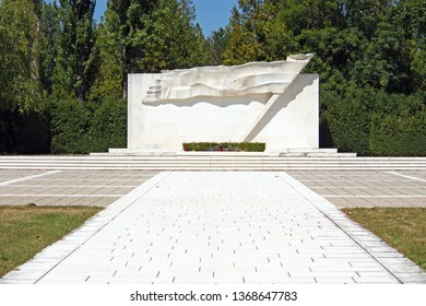 ZAGREB, CROATIA - AUGUST 21, 2012: The Tomb of the People's Heroes located in Zagreb's central graveyard, Mirogoj