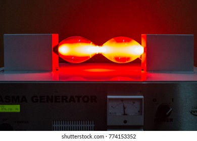 Zagreb, Croatia. December 1, 2017: Plasma generator as details of exhibition about Nicola Tesla Man from the future in Zagreb