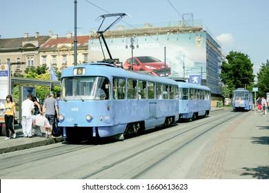 Zagrebacki Elektricni Tramvaj Images Stock Photos Vectors