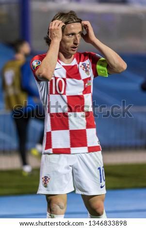 886d6120194 ZAGREB CROATIA MARCH 21 2019 UEFA Stock Photo (Edit Now) 1346833898 ...
