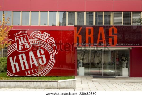 Zagreb Croatia November 15 2014 Kras Stock Photo Edit Now 230680360