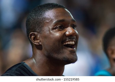 ZAGREB, CROATIA - SEP 3: 63. Boris Hanzekovic Memorial on September 3, 2013 in Zagreb, Croatia. 100m (man) - Justin GATLIN