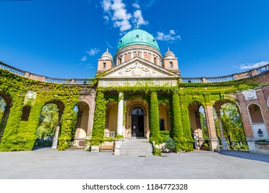 Zagreb, Croatia - September 16 2017: Mirogoj Cemetery