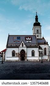 Zagreb, St Mark's Church, Croatia