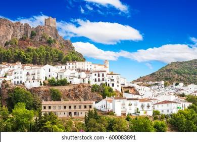 Zahara de la Sierra, hermosa localidad situada en la Sierra de Grazalema, Cádiz (Andalucía), España.