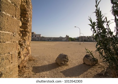 Zahara de los Atunes village and wall in Cadiz province Andalusia Spain Castle ruin