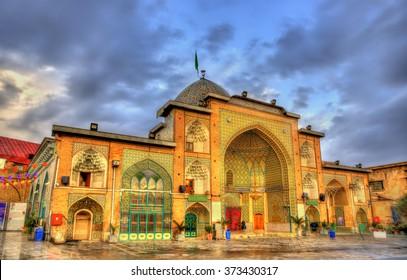 Zaid Mosque in Tehran Grand Bazaar - Iran