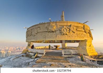 Zaisan memorial, Ulan Bator, Mongolia