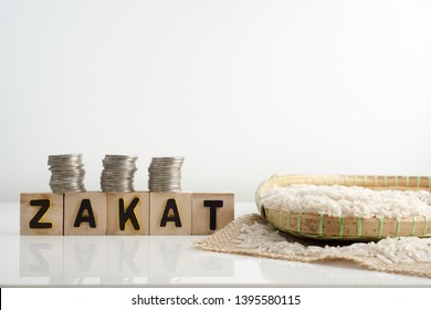 zakat images stock photos vectors shutterstock https www shutterstock com image photo zakat word coin stacked rice on 1395580115