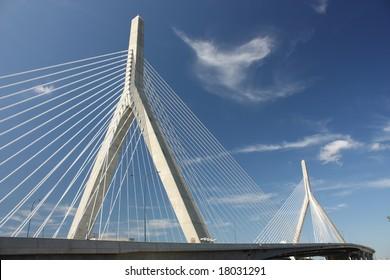 The Zakim Bridge in Boston