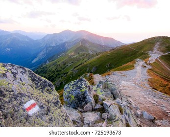 Zakopane, Poland: Sunset on the mountains