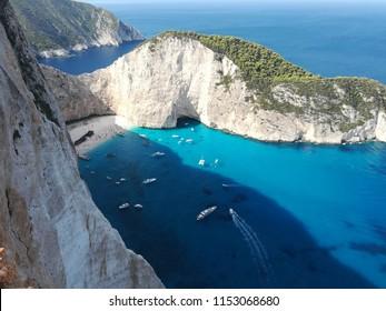 Zakynthos Greece Island Sea Coast