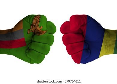ZAMBIA vs MAURITIUS