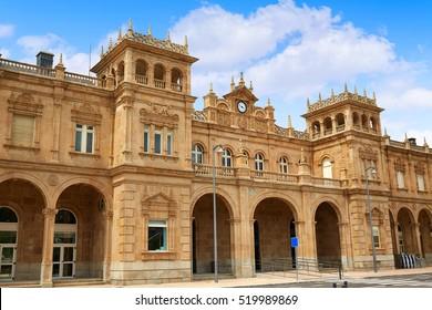Zamora train station in Spain Via de la Plata