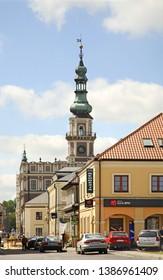 ZAMOSC. POLAND. 15 JUNE 2010 : Townhouse in Zamosc. Poland