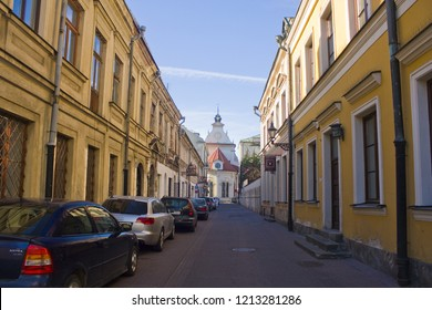 ZAMOSC, POLAND - October 16, 2018: Street of Old Town in Zamosc