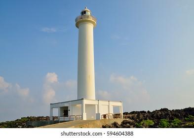 Zanpa Cape lighthouse