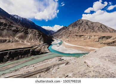 The Zanskar River is a north-flowing tributary of the Indus. The Zanskar has two main branches. First of these, the Doda. The second branch is formed by two main tributaries known as Kargyag river.