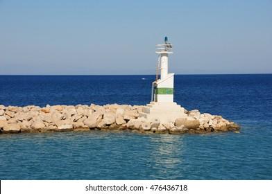 zante harbour greece