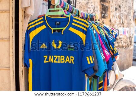 9cde52654 ZANZIBAR TANZANIA AUGUST 2017 Zanzibar Football Stock Photo (Edit ...