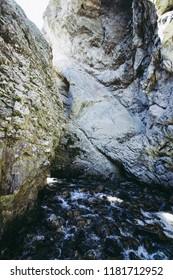 Zapata falls in colorado