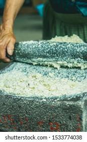 Zapotec Mexican Traditional Food preparations, Oaxaca, Mexico