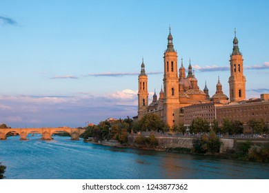 zaragoza is the capital of northeastern Spain's Aragon region. Overlooking the Ebro River in the city center is baroque Nuestra Señora del Pilar basilica