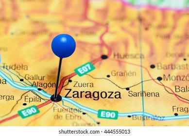 Imagenes Fotos De Stock Y Vectores Sobre Mapa Zaragoza Shutterstock