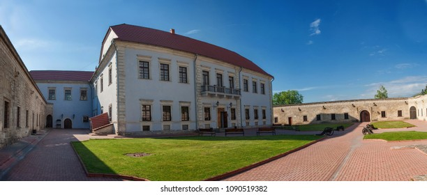 ZBARAZH, TERNOPIL REGION, UKRAINE- May 6, 2005 : Panoramic view of Zbarazh castle.