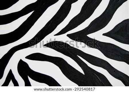 Zebra Black White Animal Print Background Safari Wallpaper